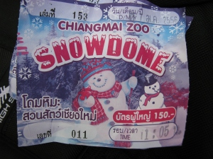 snow in Thailand!