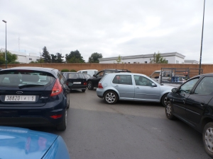 an ordinary traffic jam